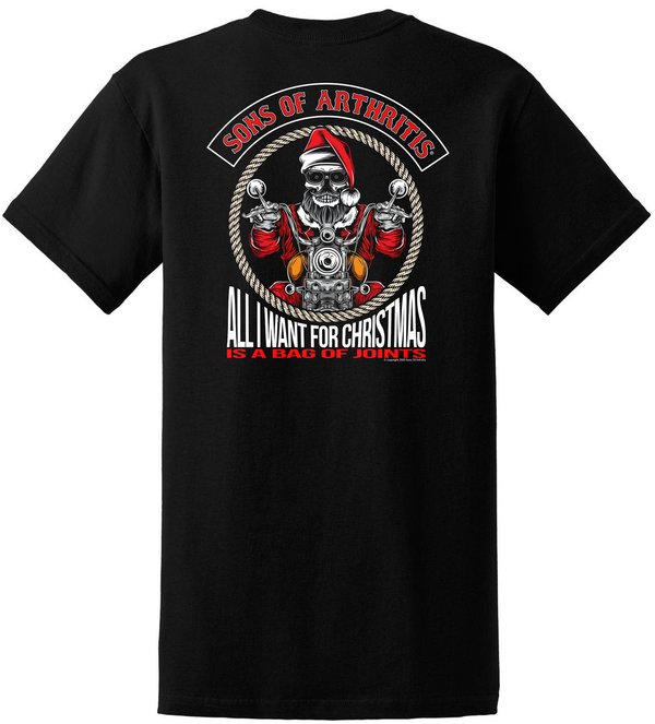 Sons of Arthritis Bag of Joints Pocket T-Shirt