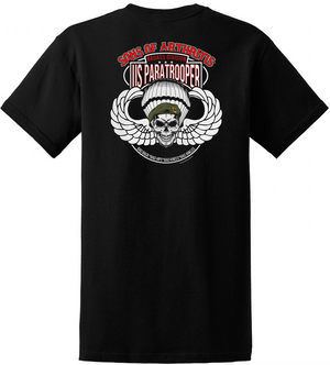 Sons of Arthritis Paratrooper Badass Division Chapter POCKET T-Shirt