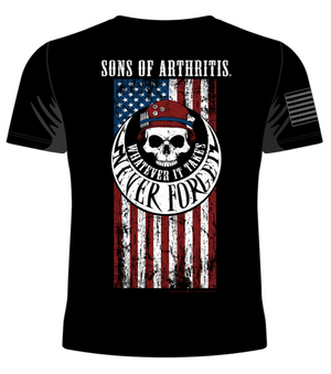 "Sons of Arthritis ""Never Forget"" T-Shirt"