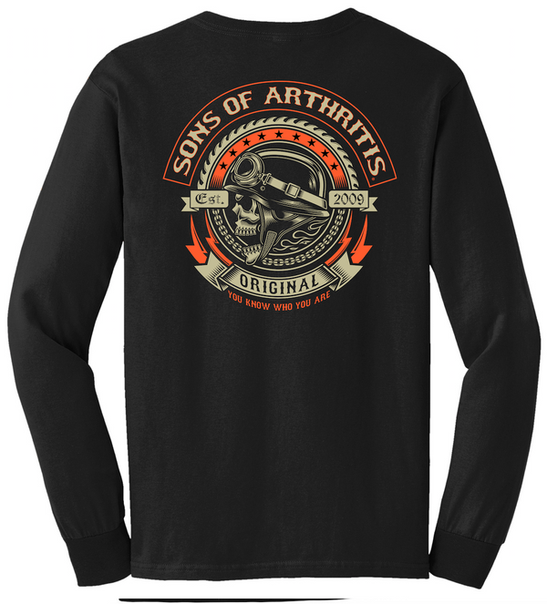 Sons of Arthritis Screamer POCKET Long Sleeve T-Shirt