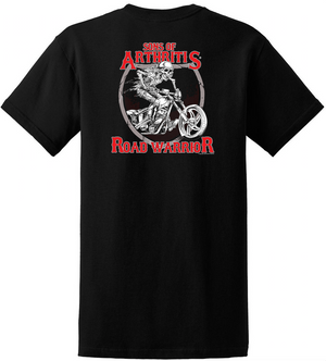 Sons of Arthritis Road Warrior Pocket T-Shirt