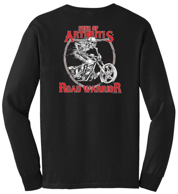 Sons of Arthritis Road Warrior Long Sleeve T-Shirt