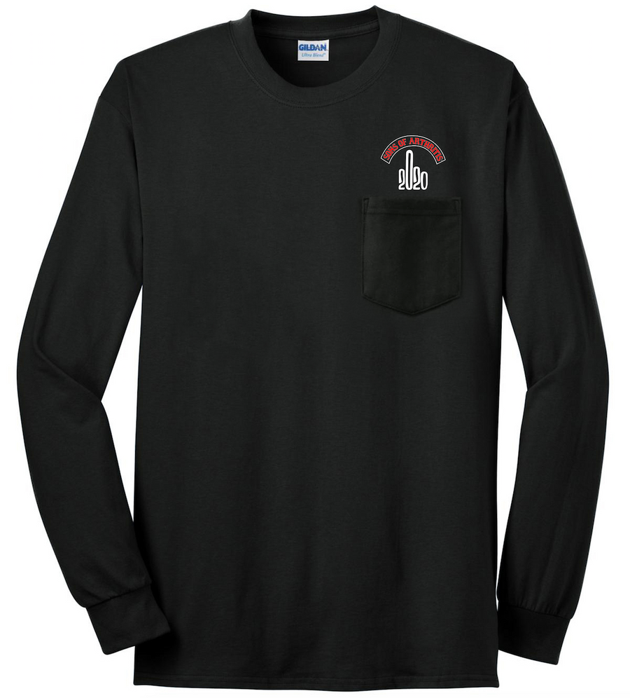 Sons of Arthritis 2020 Survival Chapter POCKET Long Sleeve T-Shirt