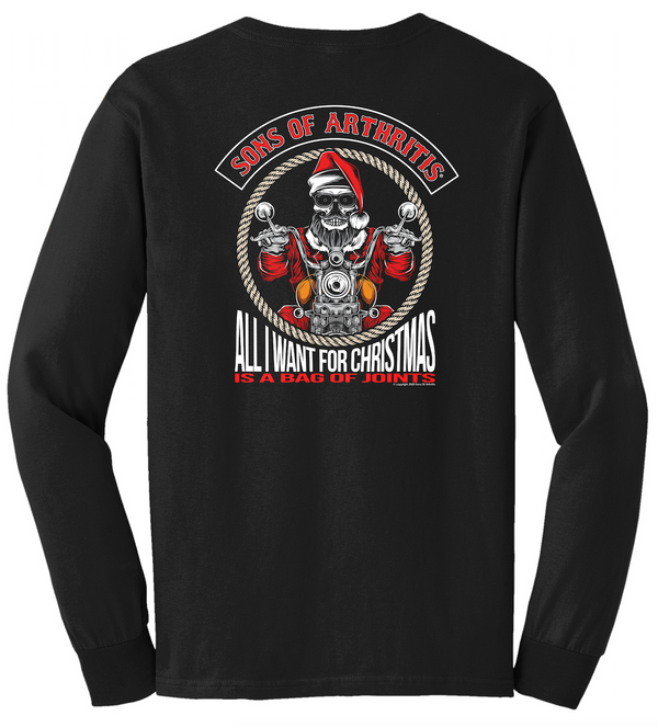 Sons of Arthritis Bag of Joints Long Sleeve T-Shirt