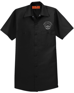 SKULL & PISTONS WORK SHIRT