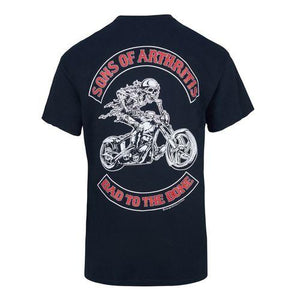 Bad to the Bone Chapter Biker T-Shirt