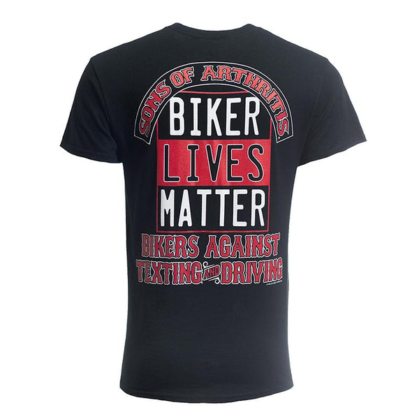 Biker Lives Matter 100% Cotton Biker Pocket T-shirt