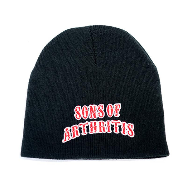 knit beanie sons of arthritis knit motorcycle hat