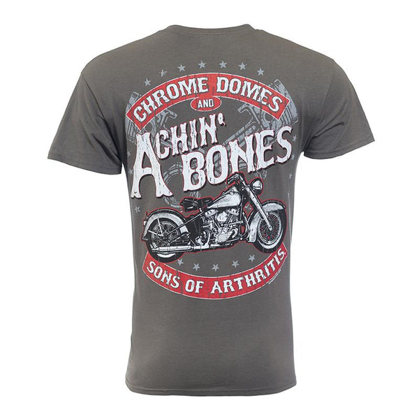 Sons of Arthritis Chrome Domes & Achin Bones (Front & Back)