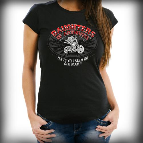 "Daughters of Arthritis ""Have You Seen My Old Man"" Tee"