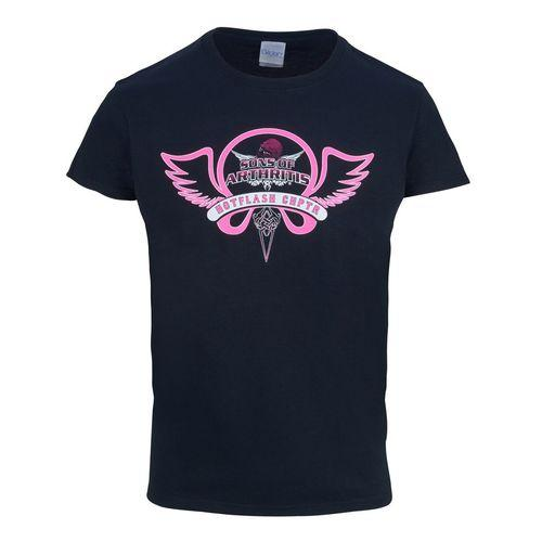 Hot Flash Chapter Biker Tee (Pink)
