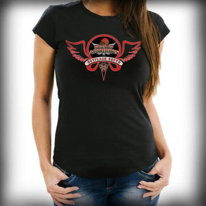 Hot Flash Chapter Biker Tee (Red)