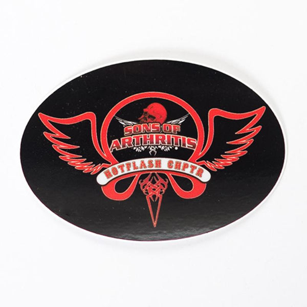 Hotflash Helmet Sticker