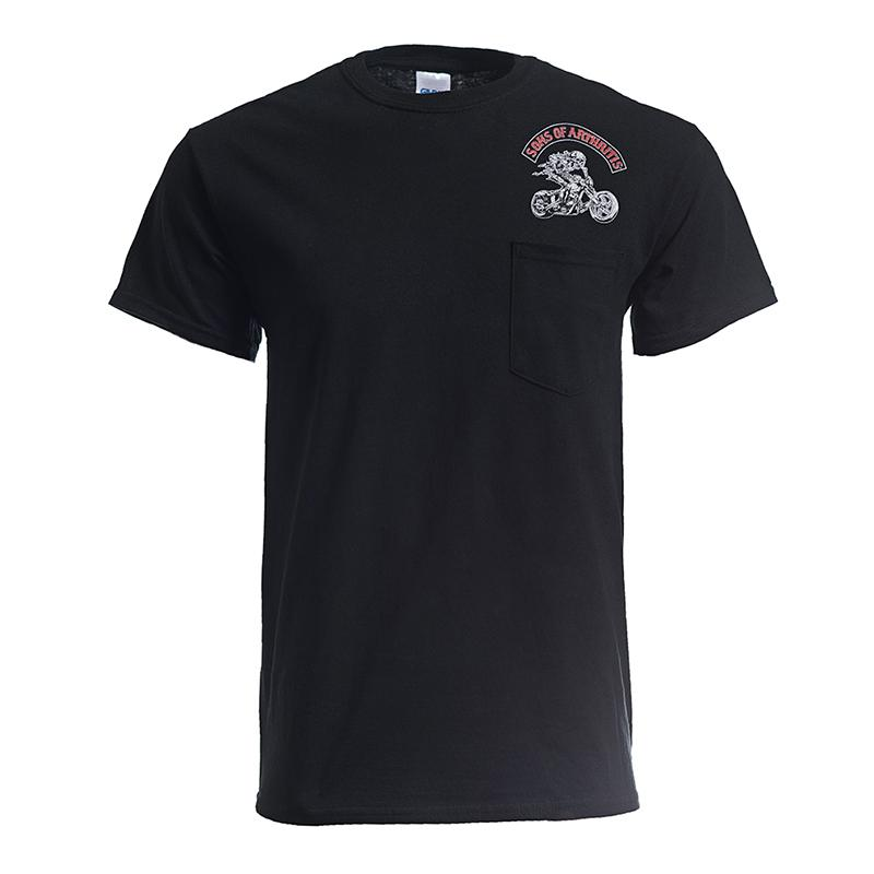 Hydrocodone Chapter Pocket Biker T-Shirt