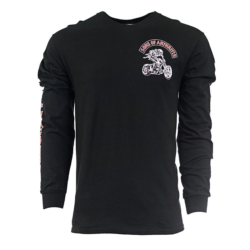 Ibuprofen Chapter Long Sleeve Biker T-Shirt