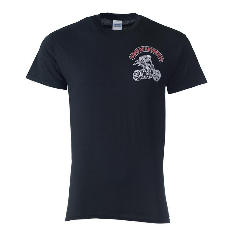 Sons of Arthritis CHRONIC PAIN WARRIOR Tee (Black)