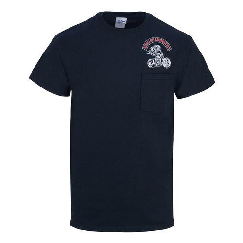 Titanium Chapter Pocket Biker T-Shirt