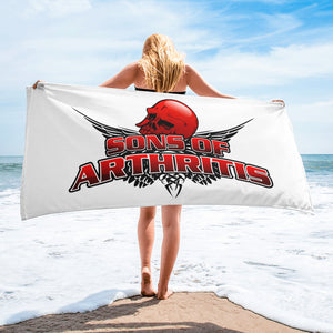 Sons of Arthritis Beach Towel
