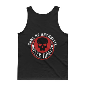 Sons of Arthritis NEVER FORGET Black Tank top
