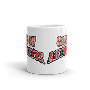 SONS OF ARTHRITIS NEVER FORGET COFFEE MUG