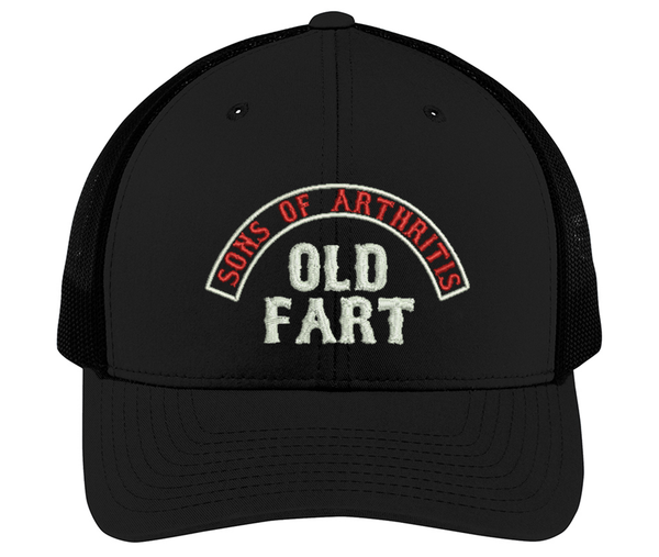 Sons of Arthritis OLD FART Cap