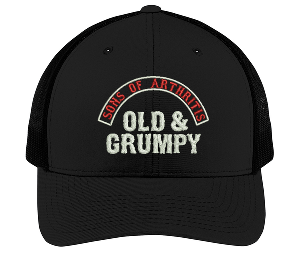 Sons of Arthritis OLD & GRUMPY  Cap