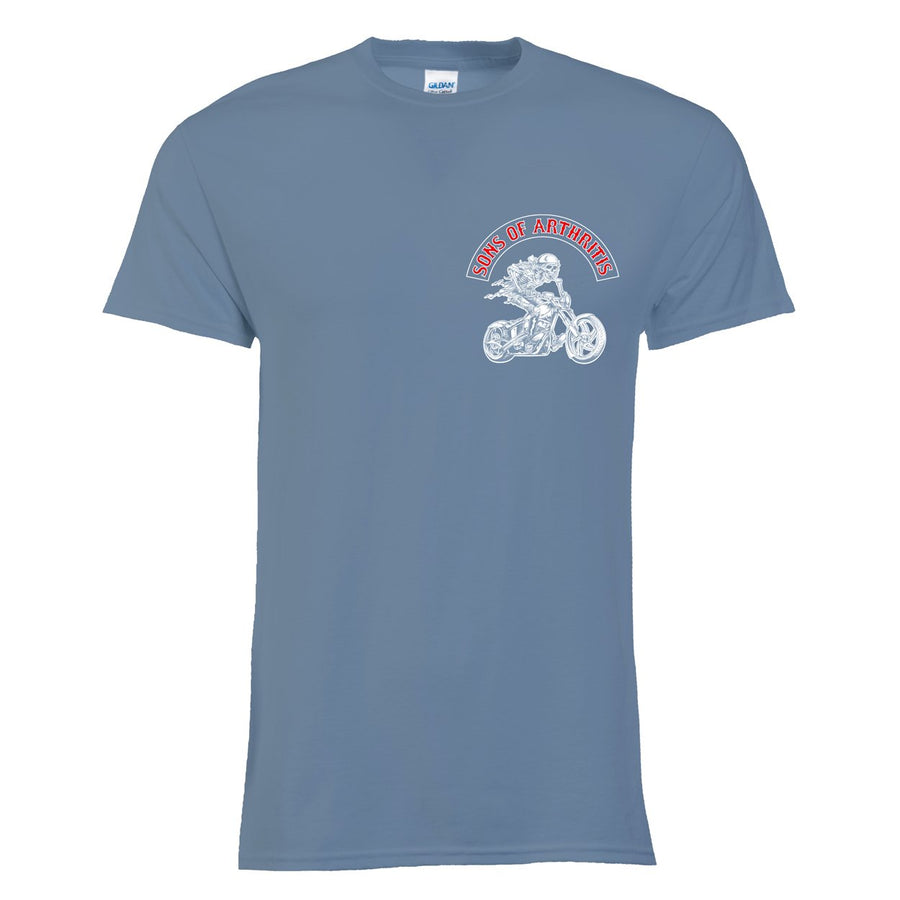 Ibuprofen Chapter Tee (Stone Blue)