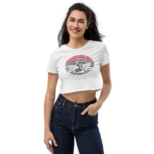 "Sons of Arthritis ""Have You Seen My Old Man"" Women's Organic Crop Top"