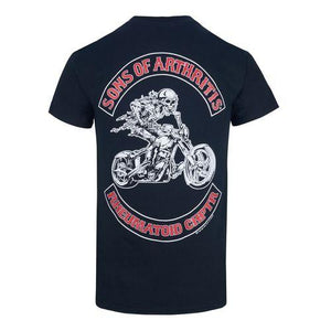 Rheumatoid Chapter Short Sleeve Biker T-Shirt- CLEARANCE
