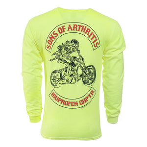 Safety Green Ibuprofen Chapter Long Sleeve Shirt
