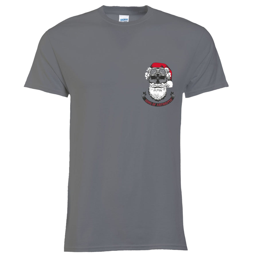 Santa on a Motorcycle Tee