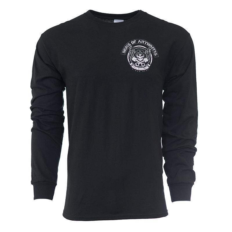 Skull & Pistons Long Sleeve T-shirt