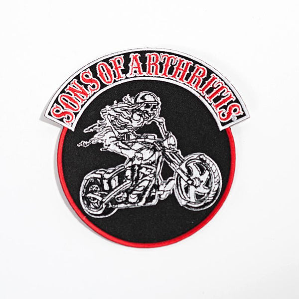 Sons of Arthritis Round Patch 5x5