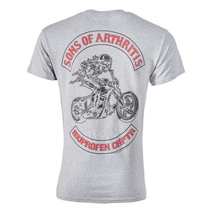 Sport Gray Ibuprofen Chapter Short Sleeve Tee