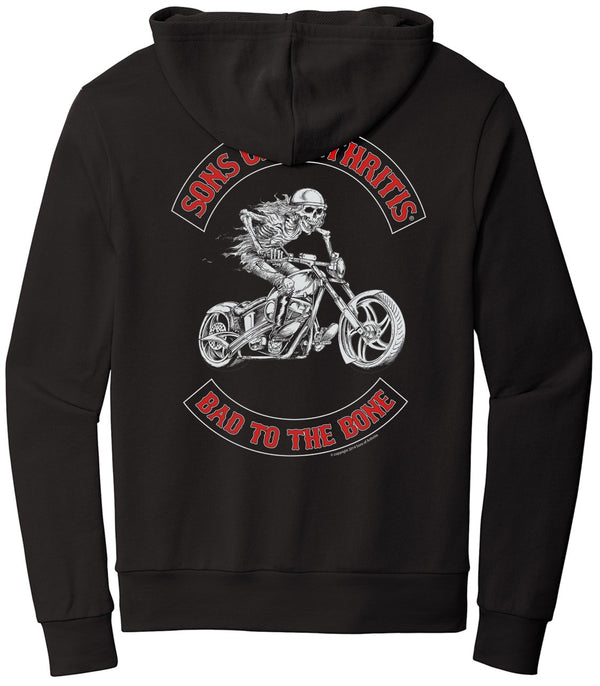 Bad to the Bone Chapter PULL OVER Hoodie