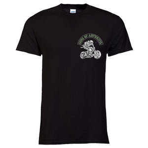 Sons of Arthritis Cannabis Chapter Tee (Black)