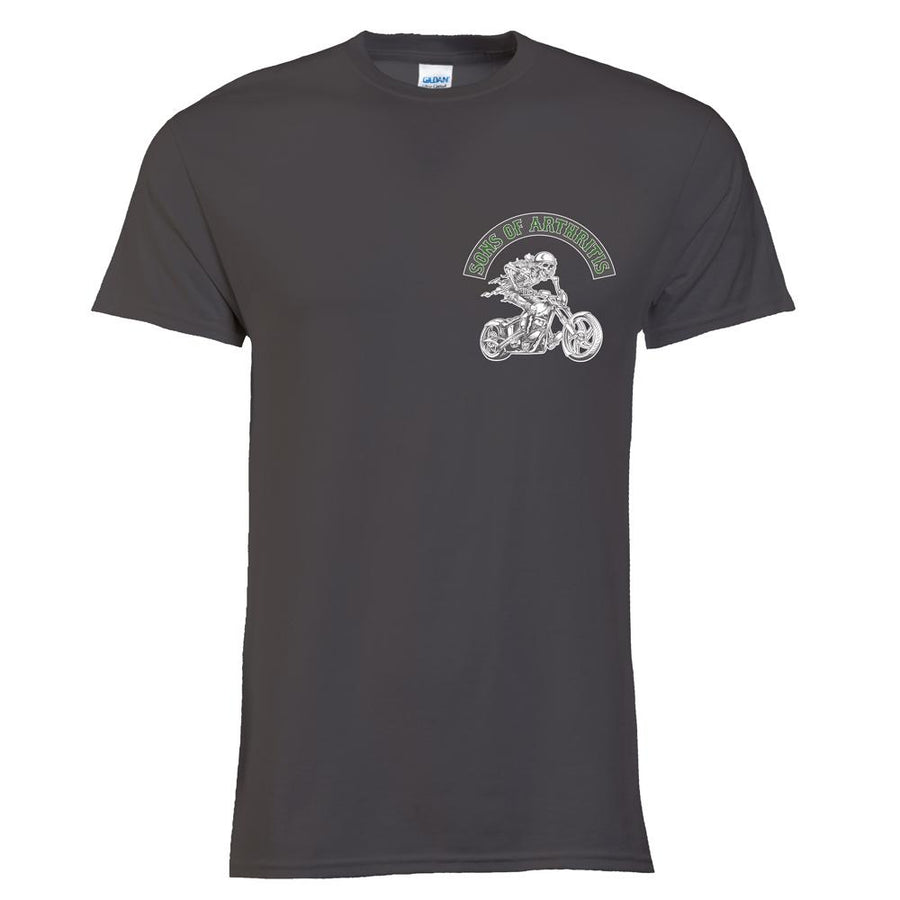 Cannabis Chapter Tee (Charcoal)