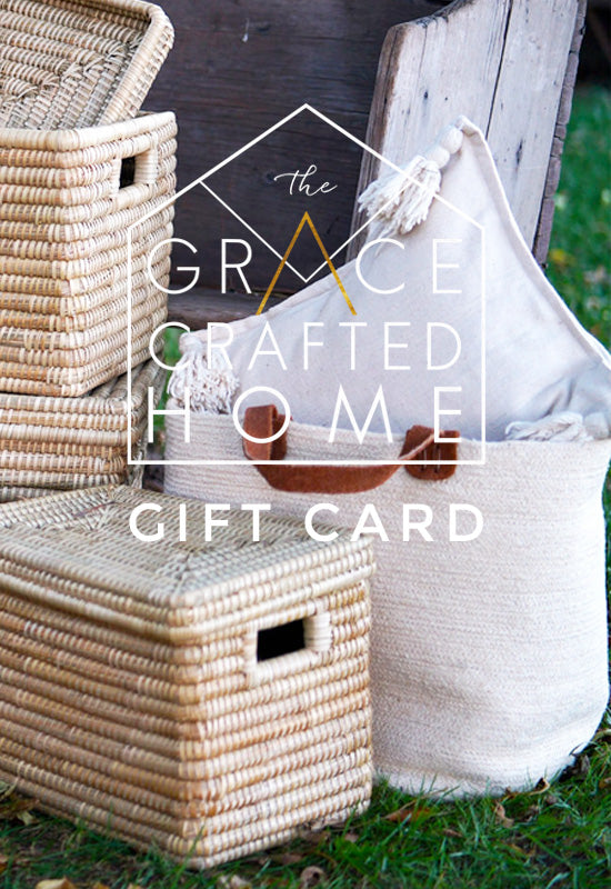 The Grace Crafted Home Gift Card