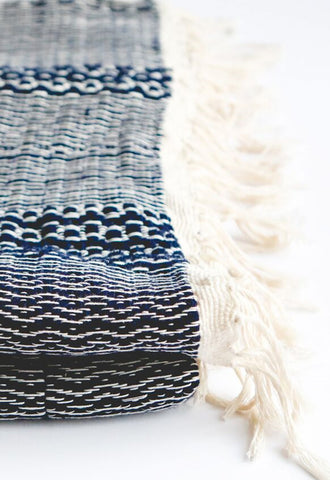 Handloomed Cotton Throw Rug