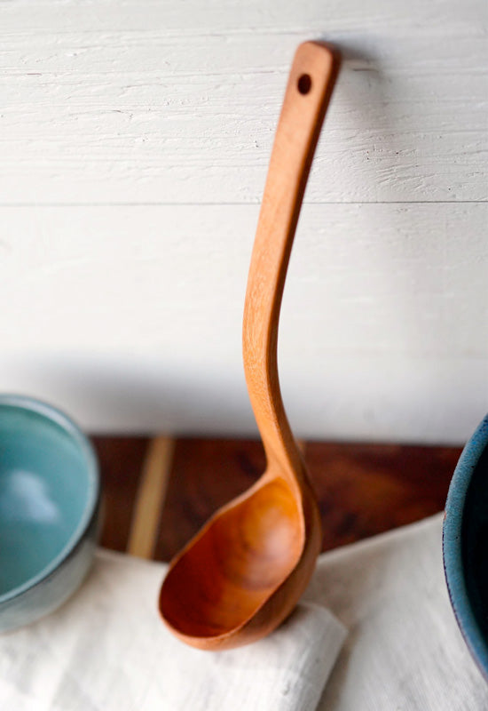 Natural Wooden Ladle