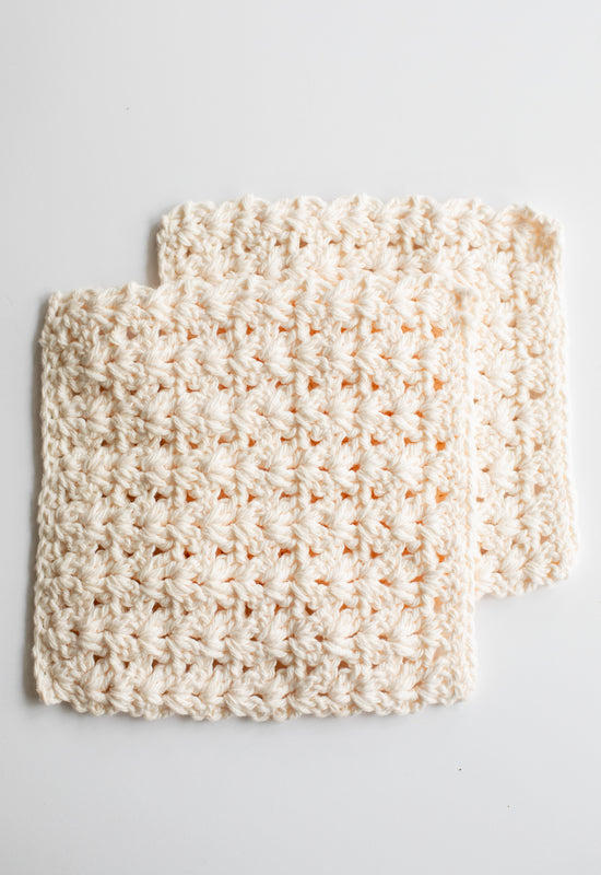 Hand-crocheted Washcloths
