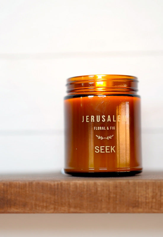Jerusalem: Floral and Fig Candle