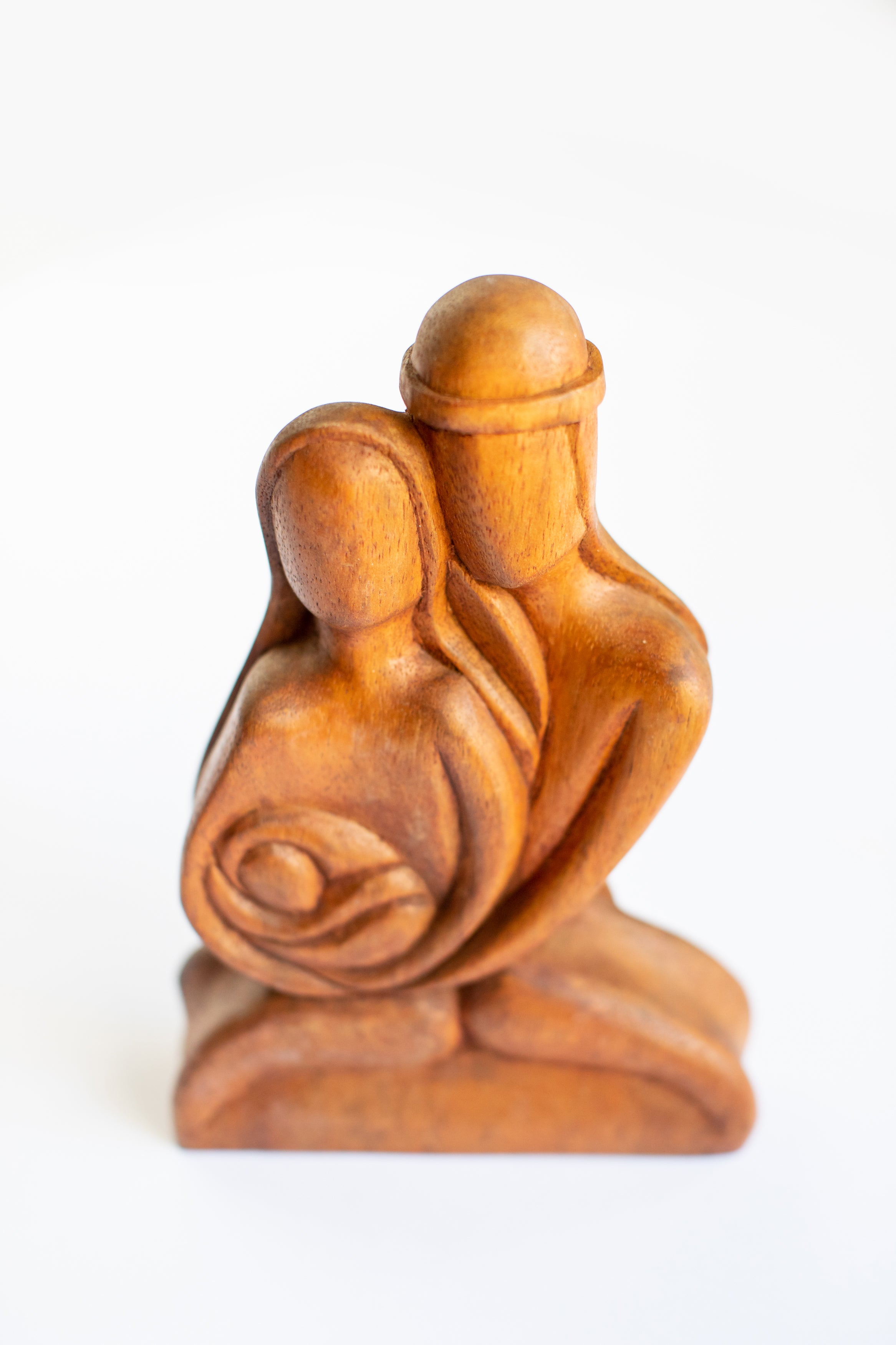 Mary & Joseph Wooden Figurine