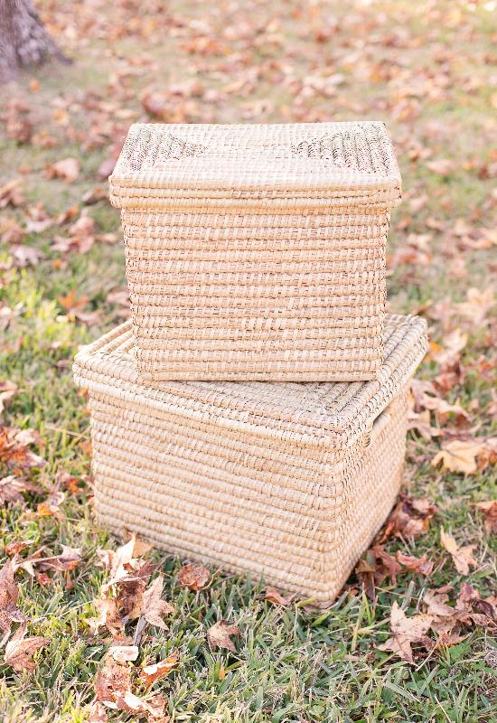 Nesting Kaisa Grass Baskets