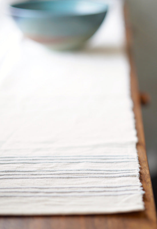 Sophisticated Stripe Table Runner