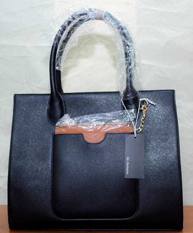 Sac à main BE EXCLUSIVE PARIS - double pochette noir