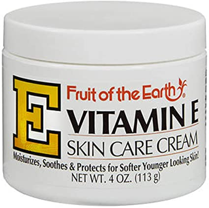 Fruit of the Earth, Vitamine E, Crème de soin, 4 oz (113 g) - usa