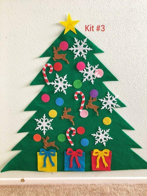 Sale! Felt Christmas Tree Kit