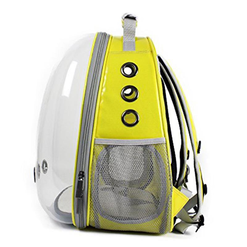 Pet Transparent Backpack Breathable 360° Sightseeing