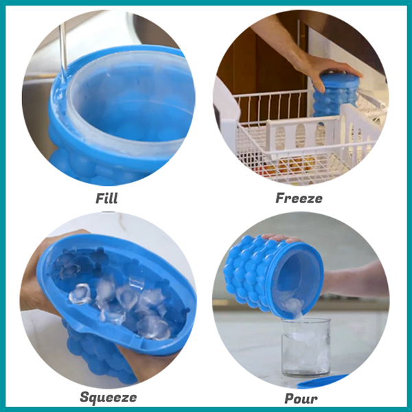 2 IN 1 ICE CUBE MAKER